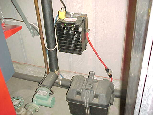 heat pump service, propane system, heat pumps: Dan: Propane backup is different than electric: With propane, the heat pump is off below the balance point (outdoor