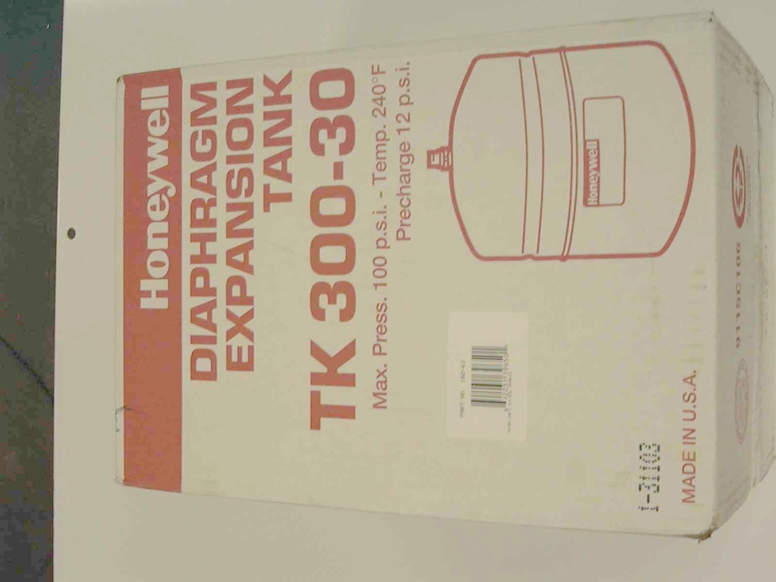 Honeywell sparco trol expansion tank gallon boiler